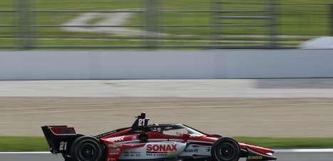 VeeKay supera Grosjean após pit stop e vence o GP de Indianápolis