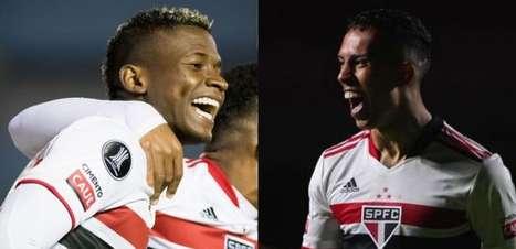 Orejuela e Igor Vinícius prometem disputa interessante pela ala direita do São Paulo