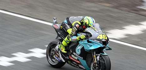 Rossi é 11º no GP da França e tem melhor resultado na MotoGP em 13 corridas