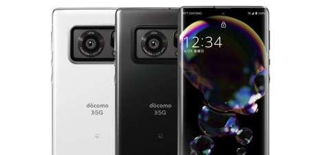 Sharp lança celular com sensor de câmera maior que no Xiaomi Mi 11 Ultra