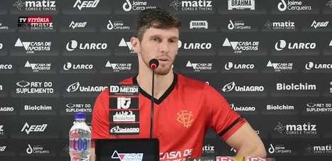 """VITÓRIA: Raul Prata reforça que acesso é o objetivo, crê que time tem condições para tal feito, mas pondera: """"sei que momento é de desconfiança"""""""