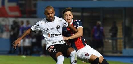 Keno faz no fim e Atlético-MG bate o Cerro Porteño por 1 a 0