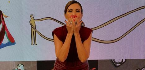 Fátima Bernardes mostra como incrementar look monocromático