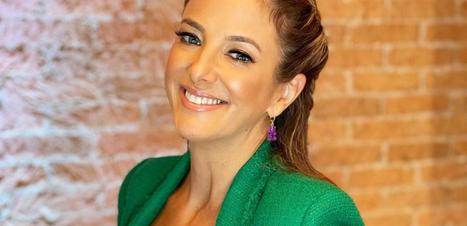 Tricolor: Ticiane Pinheiro acerta em look color blocking