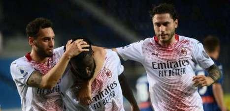 Milan bate a Atalanta, consegue classificação para a Champions e termina o Italiano em segundo