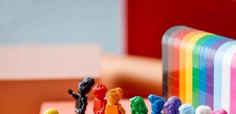 Esta nova linha de Lego mostra a representatividade LGBTQIA+ às crianças