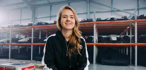 Bruna Tomaselli, pronta para voar diante da Fórmula 1