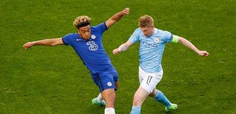 De Bruyne sofre múltiplas fraturas na face após choque com Rudiger na final da Champions League