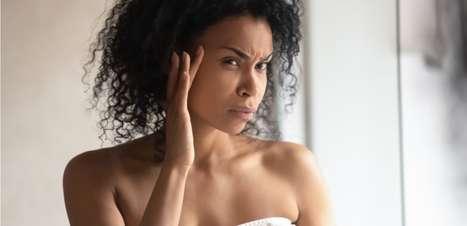 Ansiedade é gatilho para doenças na pele