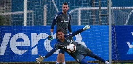 Paulo Victor retornou ao gol do Grêmio por pedido de Tiago Nunes