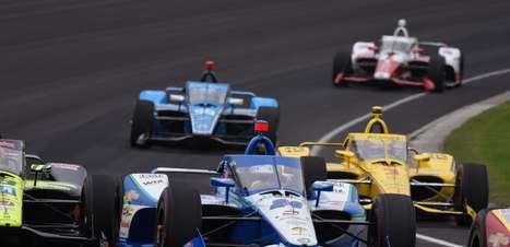 """7º na Indy 500, Karam ainda sonha em fazer temporada completa: """"Fazendo de tudo"""""""