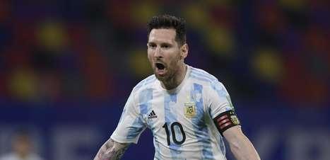 Messi goleia Neymar, 4 a 1, em confrontos Brasil x Argentina