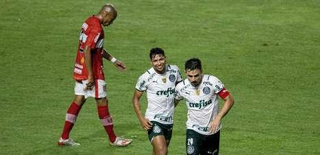 Palmeiras larga em vantagem contra o CRB na Copa do Brasil
