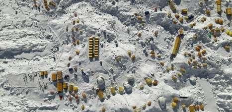 Temporada pouco comum no Everest por pandemia e ciclones