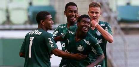 No Allianz Parque, Palmeiras goleia Bahia pelo Campeonato Brasileiro Sub-17