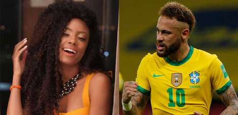 Lumena e Neymar trocam farpas por causa de pênalti perdido