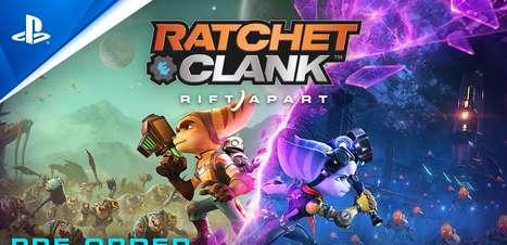 Ratchet e Clank: Em Uma Nova Dimensão é um espetáculo visual