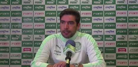 """PALMEIRAS: Abel Ferreira: """"não tivemos a capacidade de superar o nosso adversário"""""""