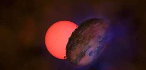 Descoberta estrela gigante 'piscante' perto do centro da Via Láctea