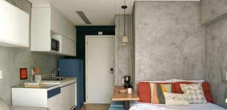 Conheça soluções criativas para espaços pequenos