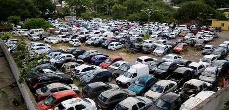 Leilão do Detran: mais de mil veículos serão leiloados ainda em junho