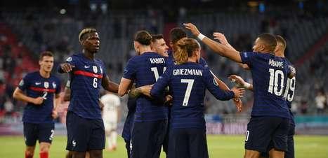 França vence Alemanha e larga na frente no 'grupo da morte'
