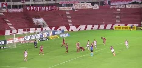 SÉRIE B: Gols de Náutico 2 x 0 Vila Nova
