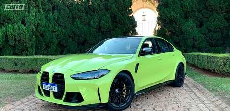 Avaliação: BMW M3 Competition Track é mais que uma grade polêmica