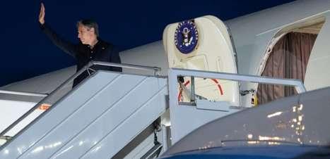 Blinken realizará viagem pela Europa após visita de Biden