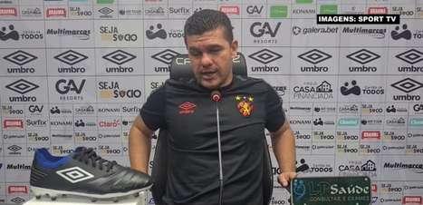 """SPORT: Umberto Louzer comenta momento turbulento na direção do clube e blinda vestiário: """"Temos que nos focar naquilo que a gente consegue controlar"""""""