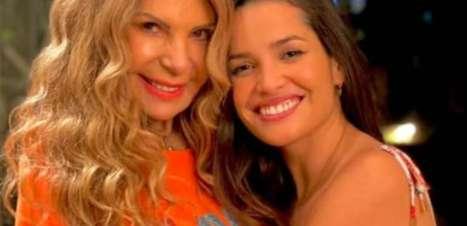 Elba Ramalho rasga elogios a Juliette ao mostrar bastidores de ensaio