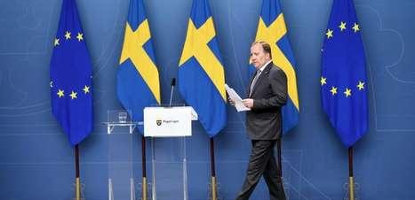 Primeiro-ministro da Suécia perde voto de confiança no Parlamento
