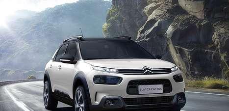 Promoção da Citroën reduz preço do C4 Cactus; veja as condições especiais
