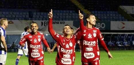 Renan Mota espera evolução com a camisa do Vila Nova-GO e boa sequência no clube