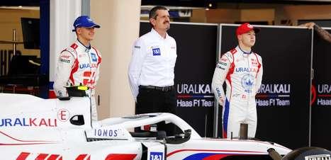 Steiner diz que determinação de Russell é inspiração para a Haas F1