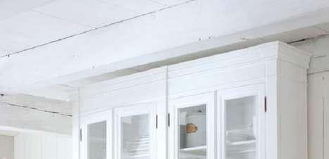 Cristaleira Branca: +55 Modelos e Dicas de Como Usar e Organizar a Peça