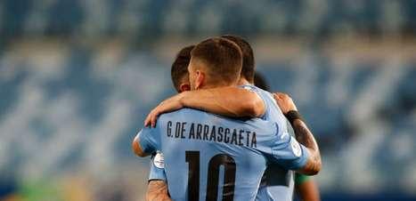 Uruguai assegura classificação ao mata-mata da Copa América vencendo a Bolívia