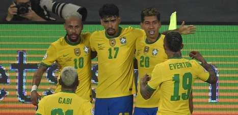 Em jogo tenso e com controvérsia, Brasil vence a Colômbia