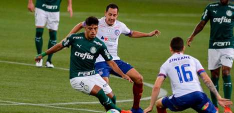 Palmeiras x Bahia: veja onde assistir ao duelo pelo Brasileirão, arbitragem e as prováveis escalações