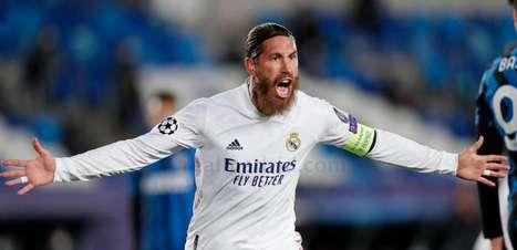 Manchester City não joga a toalha por contratação de Sergio Ramos