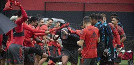 Fla treina com Rodrigo Caio sem restrições para pegar Cuiabá