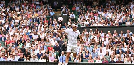 Federer vence 'freguês' Gasquet e avança em Wimbledon