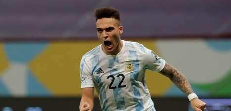 Argentina bate Colômbia e vai à final da Copa América