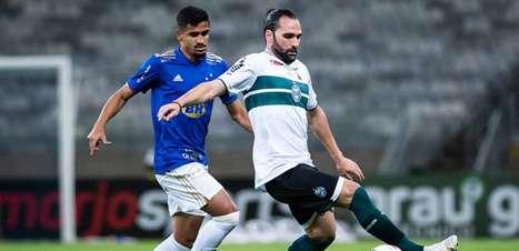 Cruzeiro e Coritiba fazem jogo morno e só empatam na Série B