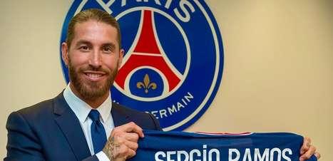 PSG anuncia a contratação de Sergio Ramos por 2 temporadas