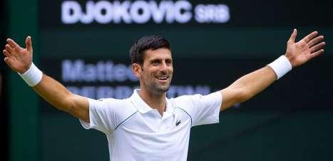 Djokovic é o 1º classificado ao ATP Finals após título