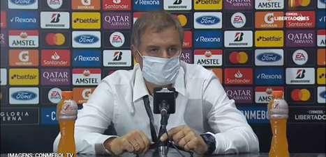 """INTERNACIONAL: Aguirre elogia partida de Daniel e ressalta sobre espera para titularidade: """"está aproveitando sua oportunidade"""""""