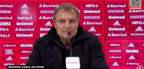 """INTERNACIONAL: Aguirre destaca papel de Taison para a equipe e elogia jogador: """"Quando ele joga, faz todos jogarem junto"""""""