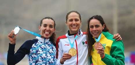 Experiente, Jaqueline Mourão mira medalha no mountain bike