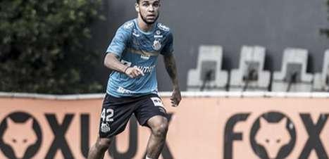 Moraes tem lesão muscular e desfalca Santos na Sul-Americana